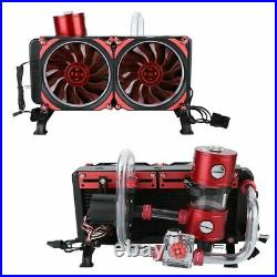 Powerful Water Cooling Kit Complete Set 50CFM for Notebook PC /4 275mm RH