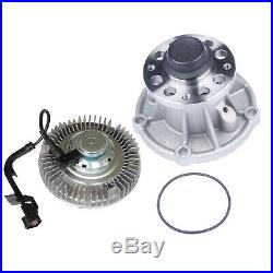 Premium for 04-07 Ford Truck 6.0L Turbo Diesel Cooling Water Pump+Fan clutch kit
