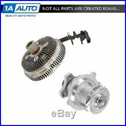 Radiator Cooling Fan Clutch & Water Pump Kit for Chevy GMC Buick SUV 4.2 New