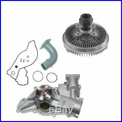Radiator Cooling Fan Clutch & Water Pump Kit for Ford 7.3L Turbo Diesel New