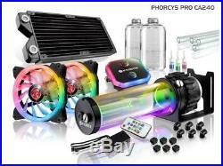 Raijintek PHORCYS PRO CA240 Full Water Cooling Kit Copper Block 28mm D5 Pump 665