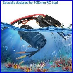 Rocket 4092 1520KV Motor 40-L Water Cooling Jacket 160A ESC Kits for RC Boat