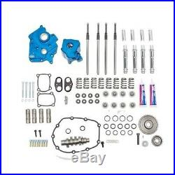 S&S 550G Gear Drive Cam Chest Kit Chrome Pushrod Tubes Water Cooled 17-Up M8