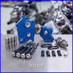 S&S Chain Drive 475C Cam Chest Kit with Black Tubes Harley Water Cooled M8 17-Up