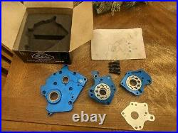 S&S Cycle 310-0997B Cam Plate & Oil Pump Kit Harley Water Cooled Milwaukee M8