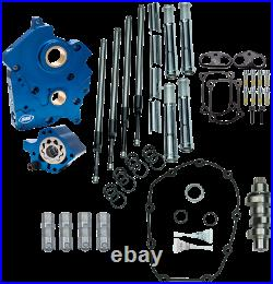S & S Cycle Black Water Cooled 465 Cam Chest Kit 310-0999A
