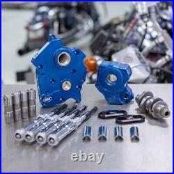 S&S Cycle Chain Drive 465C Cam Chest Kit Chrome Tubes Harley M8 Water Cooled 17+