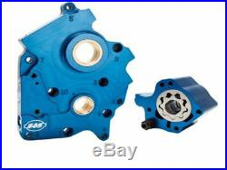 S&S M8 Cam Plate Oil Pump Kit Package Water Cooled 17-18 Harley Touring Softail