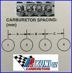 Suzuki GSXR & other Liquid (water) Cooled, Mikuni RS 34 Smoothbore Carburetor Kit