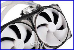 Swiftech Dual 120mm Fan AIO CPU Liquid Cooling Kit (H220X2 PRESTIGE)