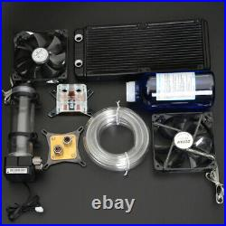Syscooling pc water cooling kit liquid computer cooler kit CPU GPU water cooling