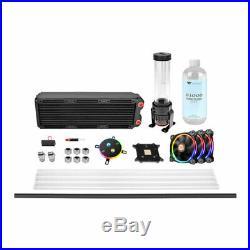 ThermalTake Pacific M360 DIY Hard Tube Liquid Cooling Kit, W4 CPU Block, PR22-D5