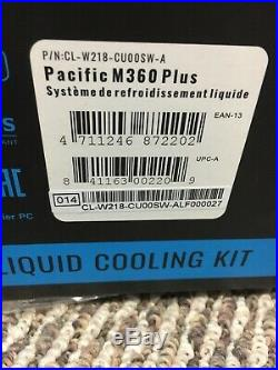 Thermaltake CL-W218-CU00SW-A Pacific M360 Plus D5 Hard Tube Water Cooling Kit
