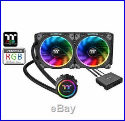 Thermaltake Floe Riing RGB 240 TT Premium All-in-One LCS Kit, CL-W157-PL12SW-A