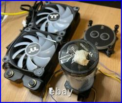 Thermaltake Liquid Cooling Kit. Entire Kit. Cutters, Bending Guides Pump etc