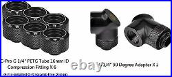 Thermaltake Pacific C240 Ddc Res/Pump 5V Sync Copper Radiator Cooling kit