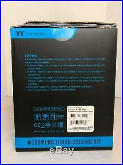 Thermaltake Pacific M360 PLUS D5 Liquid Cooling Kit/Set CL-W218-CU00SW-A NEW