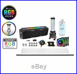 Thermaltake Pacific M360 Plus D5 Liquid Cooling Kit/Set, CL-W218-CU00SW-A