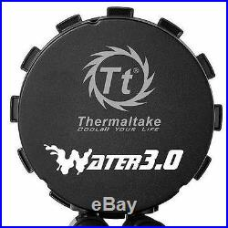 Thermaltake Water3.0 Riing RGB 360 AIO Water Cooling Kit (CL-W108-PL12SW-A)