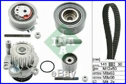 Timing Belt & Water Pump Kit 530046330 INA Set Genuine Top Quality Replacement