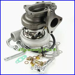 Turbocharger Fit Subaru WRX STI TD05-20G Impreza EJ20 EJ25 450HP install Kit New