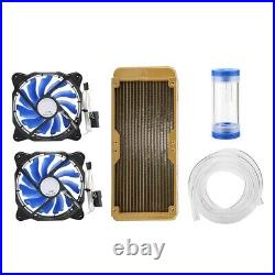 Universal Water Cooling Tubing PC Water Cooling Liquid Cooler Kit TG