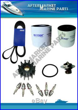 Volvo Penta service kit 4.3GXI for raw water cooling system standard spark plugs
