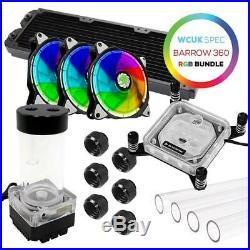 WCUK Spec Eclipse RGB Barrow Hard Tube PRO 360 Watercooling Kit INTEL 115x