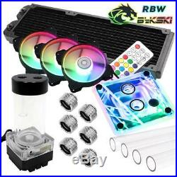 WCUK Spec Symphony RBW SYNC Bykski HardTube P360 Watercooling Kit INTEL 115x