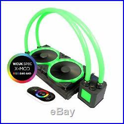 WCUK Spec X-MOD 240mm Custom RGB AIO Watercooling Kit with Controller