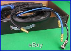 WP-20F Water Cooled 8 mtr 35/50 Water Cooled TIG Torch 200A Bonus Gaslens Kit