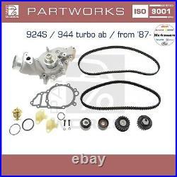 Wasserpumpe + Zahnriemen Für Porsche 924s 944 944 Turbo 08/87- Set LC
