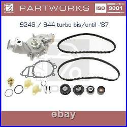 Wasserpumpe + Zahnriemen Für Porsche 924s 944 951 Turbo -07/87 Set LC