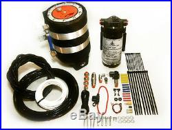Water Meth Methanol Alcohol Injection 3 Quart Ice Sumped Black Tank Fender Kit