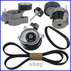 Water Pump + Belt + Tensioner Kit For Seat Ibiza VW Golf Passat Tiguan 1.4 TSI
