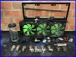 Water cooling kit XSPC Radiator Pump With XSPC top Assorted Fittings Reservoir