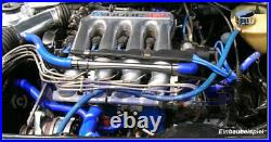 X Parts silicone hose kit VW Golf 2 1.8 l 16V GTi KR/PL Blue cooling water New