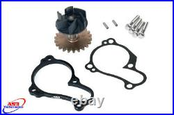 Yamaha Yzf 250 2014-2019 As3 Oversized Water Pump Impeller Cooler Cooling Kit